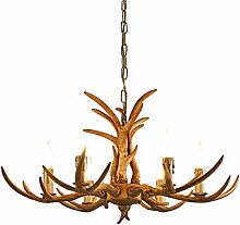 TAM88 Industrial Vintage Chandelier,Adjustable