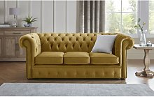 Tamesbury 3 Seater Chesterfield Sofa Ophelia & Co.
