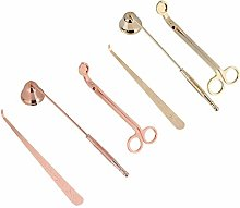 Tamkyo 2 Set Candle Snuffer Candle Accessory Set,