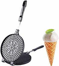 TAMUME Manual Ice Cream Waffle Cone Maker,