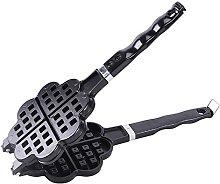 TAMUME Stovetop Cast Alluminium Waffle Iron