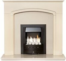 Tamworth in Cream & Beige Marble with Downlights &