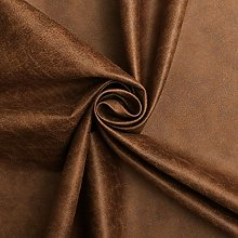TAN - AGED BROWN DISTRESSED ANTIQUED FAUX LEATHER
