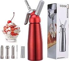 TananT Professional Aluminum Whip Cream Dispenser,