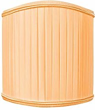 Tangerine Folding Lampshade with Flame Clip