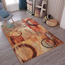 TANGYUAN Diamond Pattern in Soft Touch Large Rug -