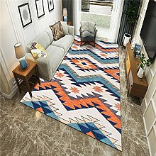TANGYUAN Patchwork Squares Traditional Rug -