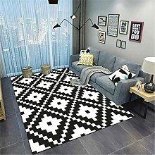 TANGYUAN rug Modern Short-pile Effect Decorative