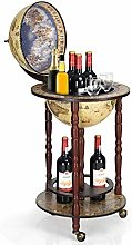 TANGZON 330MM/360MM Globe Drinks Cabinet, Movable