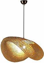 Tanktoyd Handmade Wicker Ceiling Pendant Lamp with