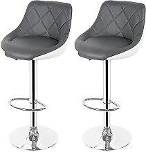TANYTAO-SHOP Bar Chairs,Bar Stools 2 PCS Kitchen
