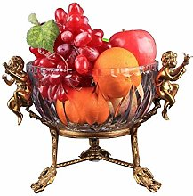 Tao Fruit Bowls European Style Pure Copper Crystal