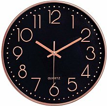 Taodyans Silent Wall Clock 12 In Kitchen Clock