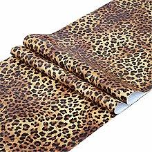 Taogift Self Adhesive Vinyl Film Leopard Animal