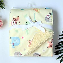 TAOJI Baby Blankets New Born Thicken Double Layer
