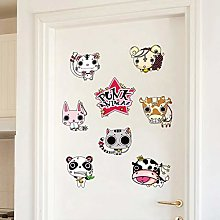 TAOYUE Cute Animals Wall Stickers Decal Home Decor