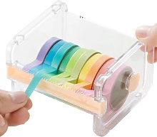 Tape Dispenser Cutter Roll Tape Holder Organizer