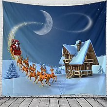 Tapestries Wall Hanging Art Decor Christmas Claus