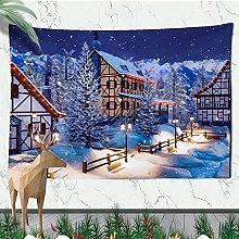 Tapestries Wall Hanging Art Decor Christmas Wall