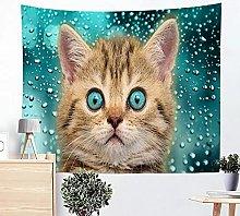 Tapestries Wall Hanging Art Decor Cute Cat