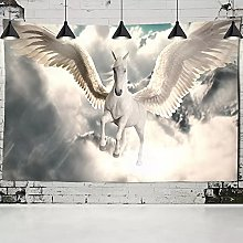 Tapestries Wall Hanging Art Decor horse flying