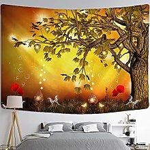 Tapestries Wall Hanging Art Decor Landscape tree