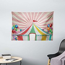 Tapestries Wall Tapestry Circus Tapestry Old Style