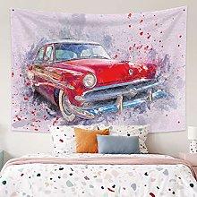 Tapestry Abstract Car Mandala Tapestry Wall