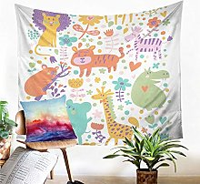 Tapestry Animal Tapestry Wall Hanging Sand Mat