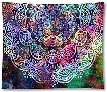 Tapestry by BD-Boombdl Color Floral Mandala