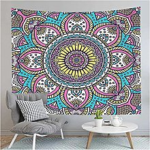 Tapestry by BD-Boombdl Color Flower Mandala