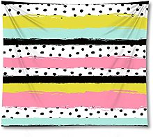 Tapestry by BD-Boombdl Color Stripes Geometric