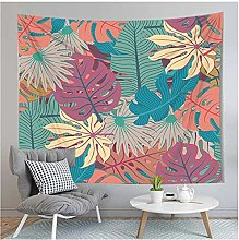 Tapestry by FDCYFFS 3D Tropical Plants Wall