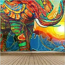 Tapestry by FDCYFFS Animal Color Elephant Wall