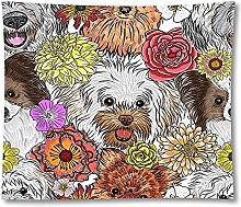 Tapestry by FDCYFFS Animal Cute Dog Decoration