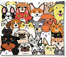 Tapestry by FDCYFFS Animal Cute Dog Tapestry Wall