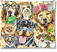 Tapestry by FDCYFFS Animal Dog Tapestry Wall