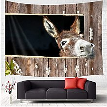 Tapestry by FDCYFFS Animal Lover Cute Funny Donkey