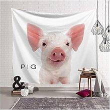 Tapestry by FDCYFFS Animal Pig Printing Tapestry