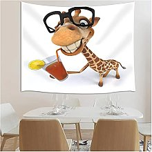 Tapestry by FDCYFFS Animal Wall Hanging Funny