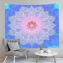 Tapestry by FDCYFFS Blue Lace Floral Mandala