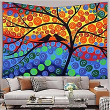 Tapestry by FDCYFFS Color Tree Forest Animal Bird