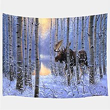 Tapestry by FDCYFFS Deer Tapestry Wild Animal Wall