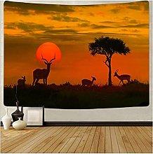 Tapestry by FDCYFFS Dusk Landscape Sunset Glow