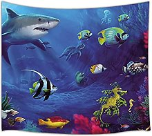 Tapestry by FDCYFFS Sea Animal Tapestry Hanging In