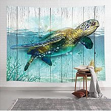 Tapestry by FDCYFFS Sea Turtle Tapestry Wall
