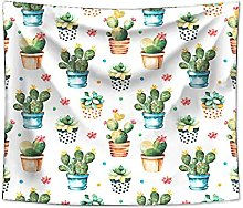 Tapestry Cactus Tapestry Wall Hanging Sandy Picnic
