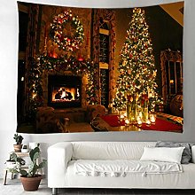 Tapestry Christmas Background Decoration Cloth