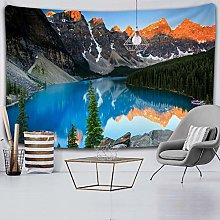 Tapestry Forest Lake Tapestry Wall Hanging