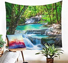 Tapestry Forest Waterfall Tapestry Wall Hanging